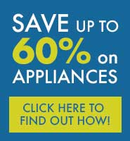Up to 60% off on Appliances