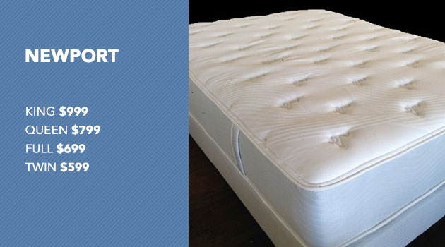 Newport Mattress with Pricing